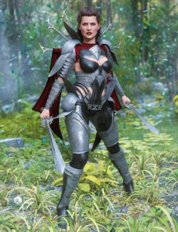 Iron Warrior for Genesis 8 Female(s)