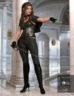 Blackdawn Outfit for Genesis 8 Female(s)