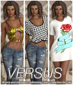 VERSUS- dForce and standard conforming Tshirt Collection for G8F