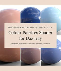 Colour Palettes Shader for Daz Studio