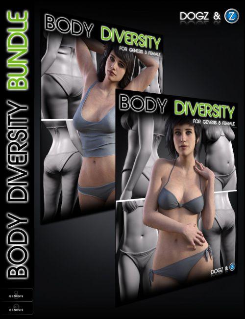 Body Diversity Morphs Bundle for Genesis 3 & 8 Female(s)
