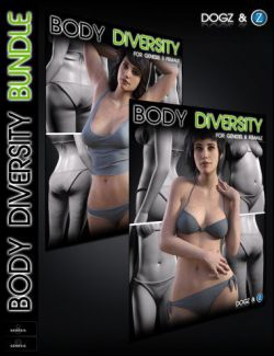 Body Diversity Morphs Bundle for Genesis 3 & 8 Female(s)
