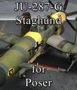 Ju-287-G/1 Staghund for Poser