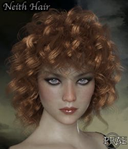 Prae-Neith Hair For G3 G8 Daz