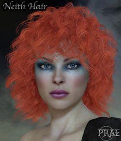 Prae-Neith Hair V4 Poser