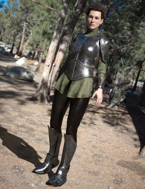 Maid At Arms Armor for Genesis 8 Female(s)