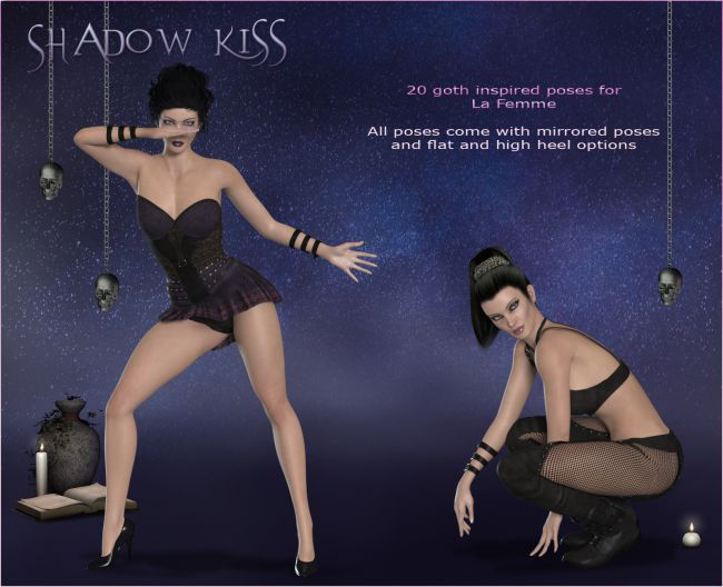 Shadow Kiss for la Femme