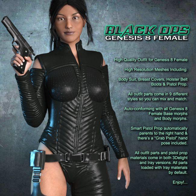 Exnem Black Ops Merc G8 Female