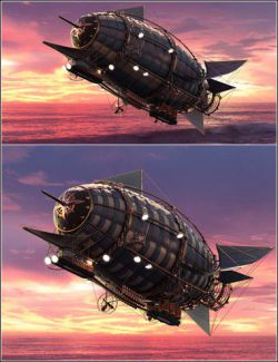 Steam Powered Dirigible