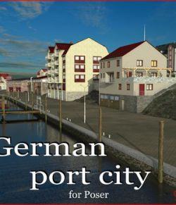 German port city