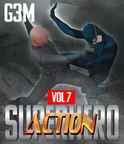 SuperHero Action for G3M Volume 7