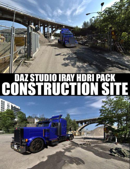 Construction Site - DAZ Studio Iray HDRI Pack