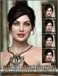Mixable Expressions for Ellithia 8 and Genesis 8 Female(s)