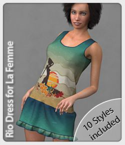 Rio Dress and 10 Styles for La Femme