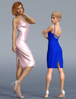 dForce H&C Open Back Dress for Genesis 8 Female(s)