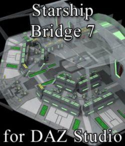 Starship Bridge 7 for DAZ Studio