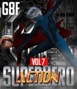 SuperHero Action for G8F Volume 7