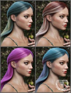OOT Hairblending 2.0 Texture XPansion for Adeline Hair
