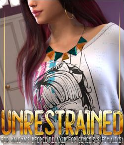 Unrestrained for dForce Relaxed for Genesis 8 Female(s)