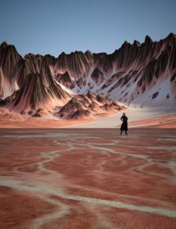 Red Salt Planet