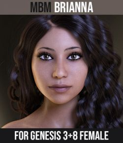 MbM Brianna for Genesis 3 & 8 Female