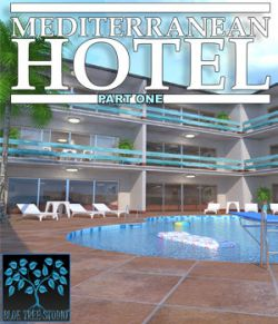 Mediterranean Hotel Part One for Poser