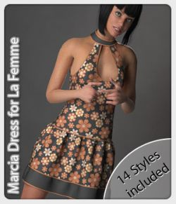 Marcia Dress and 14 Styles for La Femme