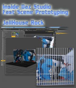 Inside Daz Studio - Fast Scene Prototyping - JailHouse Rock