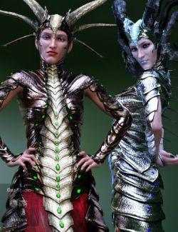Dragon Empresses for Genesis 8 Female