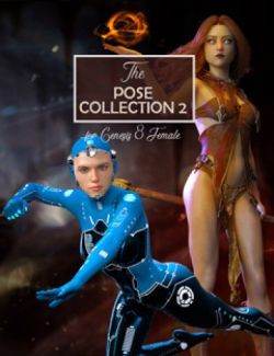 The Pose Collection 2 for Genesis 8 Female