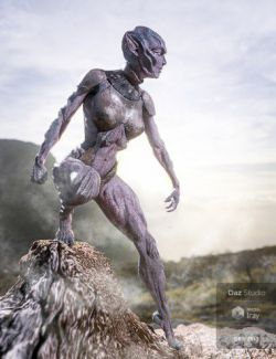 Oumua HD Alien Creature for Genesis 8 Female