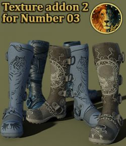 Texture addon 2 for Number 03