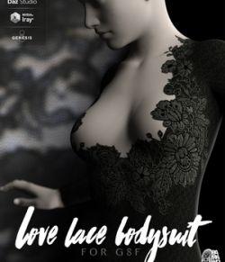 Lace Love Bodysuit For Genesis 8 Female