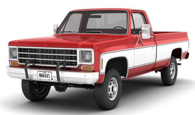 GENERIC 4WD PICKUP TRUCK 7 - Extended License