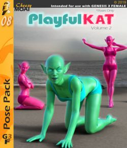 Playful Kat v02 : By CheesyMoai for G3F