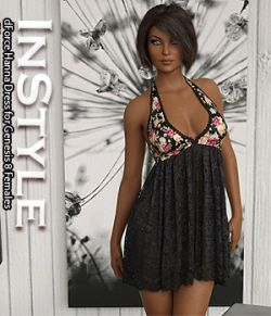 InStyle - dForce Hanna Dress for Genesis 8 Females