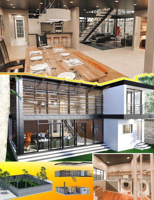 Modern Rustic House