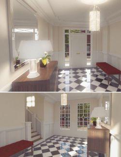 Vintage Hallway