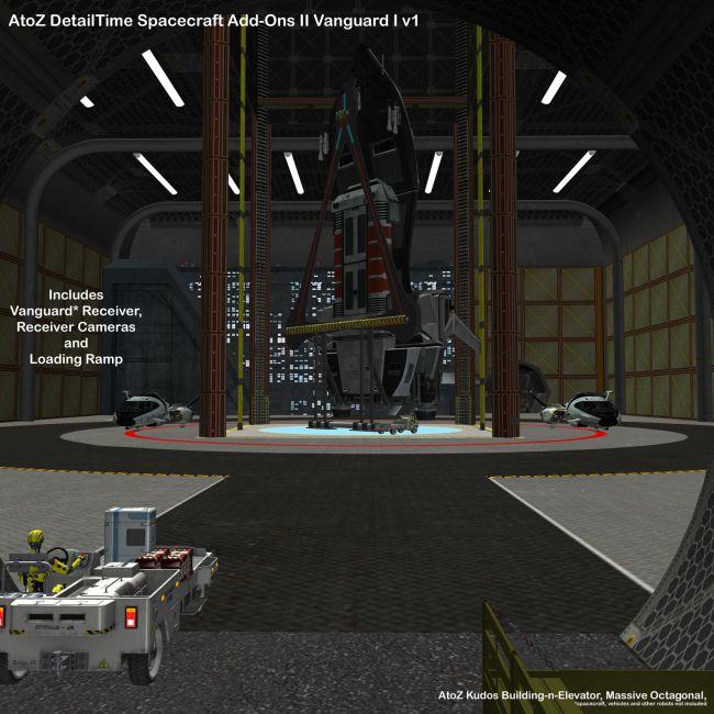 AtoZ Detail Time Spacecraft Add-Ons II Vanguard I v1