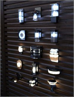 Contemporary Wall Lighting Vol 1