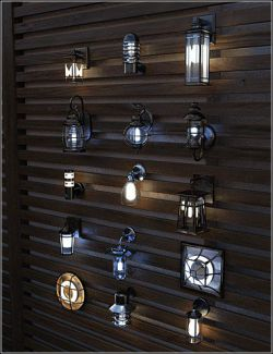 Contemporary Wall Lighting Vol 2