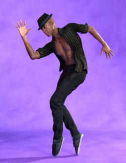 Expressive Dancer Poses for Genesis 8 Male