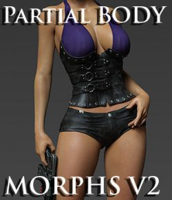 Partial Body Morphs G8F Vol 2