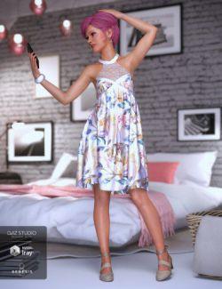 dForce Evening Cheer Dress for Genesis 8 Female(s)
