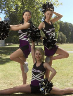 Cheer Poses for Teen Jane 8