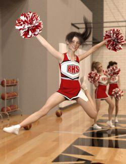 dForce High School Cheer for Genesis 8 Female(s)