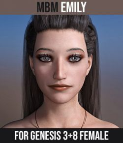 MbM Emily for Genesis 3 & 8 Female