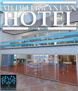 Mediterranean Hotel Part Two for Poser