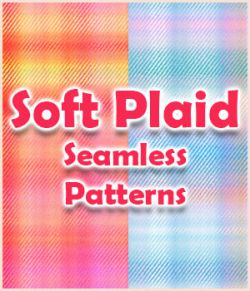 Seamless Soft Plaid Patterns