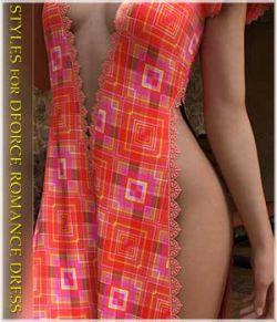 Styles for dForce - Romance Dress for G8F